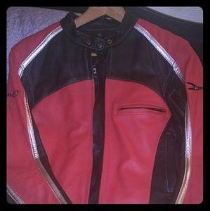 Joe Rocket Leather motocycle Jacket